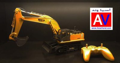 بیل مکانیکی کنترلی 11ch RC Excavator