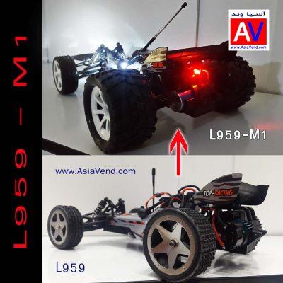 ماشین آرسی آفرود تقویت شده Wltoys 400x400 ماشین کنترلی حرفه ای L959 | ماشین آرسی آفرود تقویت شده Wltoys