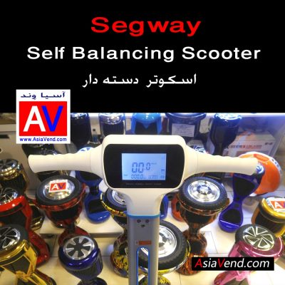 اسکوتر برقی هوشمند دسته دار مدل Segway D14