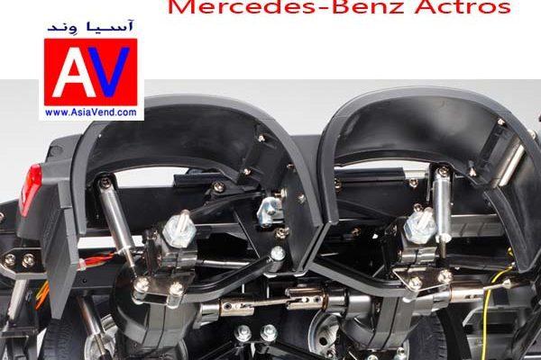 ماکت کامیون کنترلی بنز آکتروس Truck RC CAR 2 600x400 تریلی کنترلی و کامیون کشنده آرسی Tamiya Mercedes Benz Actros