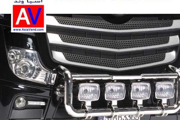 ماکت کامیون کنترلی بنز آکتروس Truck RC CAR 4 600x400 تریلی کنترلی و کامیون کشنده آرسی Tamiya Mercedes Benz Actros
