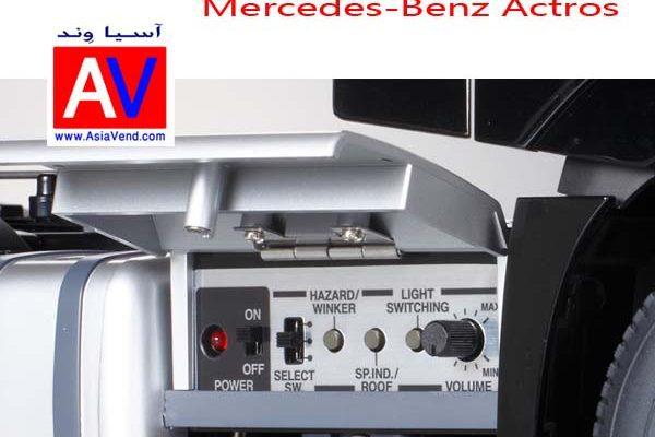 ماکت کامیون کنترلی بنز آکتروس Truck RC CAR 5 600x400 تریلی کنترلی و کامیون کشنده آرسی Tamiya Mercedes Benz Actros