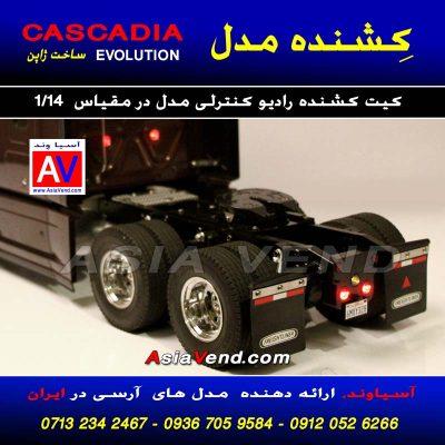 کامیون کنترلی مدل Tamiya Cascadia Evolution