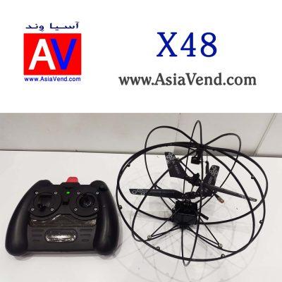 کواد مولتی روتور هابی 400x400 هلیکوپتر کنترلی پهپاد X48