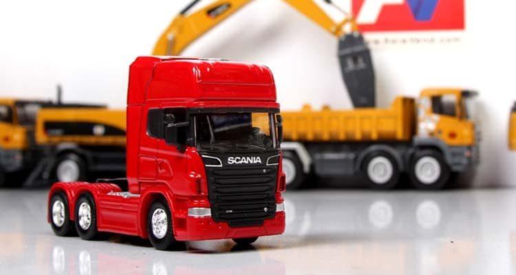 ماکت ماشین سنگین اسکانیا SCANIA R730 Diecast Model