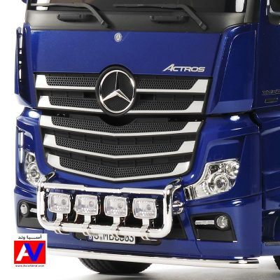 Tamiya Mercedes-Benz Actros 3363 6x4 Giga Space RC Truck Blue edition